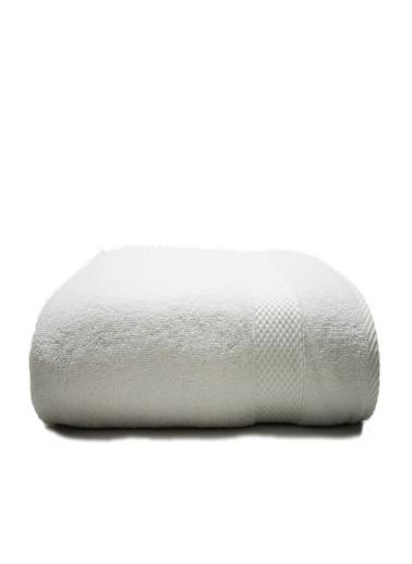 For Home %100 Pamuk 90x150 Banyo Havlusu Beyaz